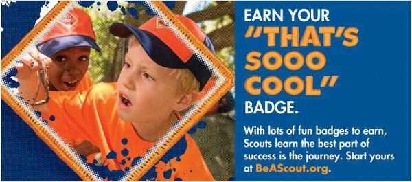 Earn your Thats Sooo Cool Badge